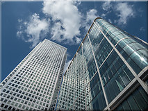 TQ3780 : Canada Tower, Canary Wharf, London by Christine Matthews