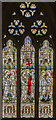 TG1222 : Stained glass window, St Michael and All Angels' church, Booton by Julian P Guffogg