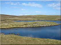 HU5663 : Nuckro Water, Whalsay by David Purchase