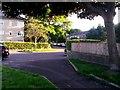 SZ0794 : Ensbury Park: footpath N08 crosses Walton Road diagonally by Chris Downer