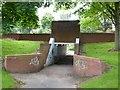 SJ8443 : Westbury Park: underpass beneath Westbury Road by Jonathan Hutchins