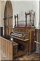 TG1222 : Organ, St Michael and All Angels' church, Booton by Julian P Guffogg