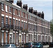 SJ3589 : 79-93 Canning Street, Liverpool by Stephen Richards