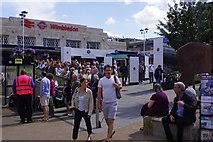 TQ2470 : Wimbledon Station by Stephen McKay