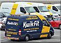 J3775 : Kwik Fit van, Belfast City Airport (July 2016) by Albert Bridge