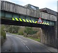 TQ5738 : Railway Bridge, A26 by N Chadwick