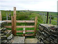 SE0529 : Stile onto the moor, Ovenden by Humphrey Bolton