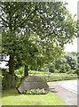 ST5963 : Stanton Drew village stone by Neil Owen
