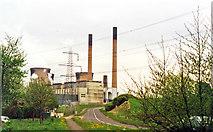 SE4824 : Ferrybridge Power Station, 1995 by Ben Brooksbank