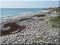 NF7761 : Stony beach at Baleshare by M J Richardson