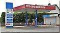 J2077 : Former petrol station, Nutt's Corner (July 2016) by Albert Bridge