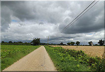 TM1678 : Entrance & footpath to Thorpe Parva Hall by Adrian Cable