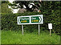TM0481 : Rosdsign on the A1066 The Street by Adrian Cable