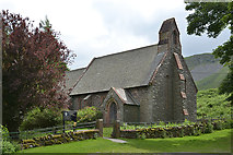 NY4319 : Parish church of St. Peter, Martindale by Nigel Brown