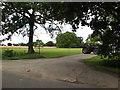 TM0380 : Entrance to Noddle Farm by Geographer