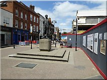 SO8554 : The south end of Worcester's High Street by Philip Halling