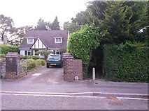 SZ0895 : Redhill: footpath O19 from Redhill Drive by Chris Downer
