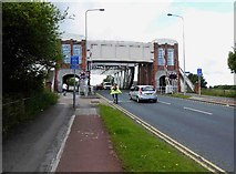 TA0832 : Sutton Road bridge Hull by Steve  Fareham