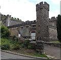 SO0407 : Southwest corner of Grade I listed Cyfarthfa Castle, Merthyr Tydfil by Jaggery