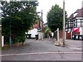 SZ1091 : Boscombe: footpath F02 to Knole Road by Chris Downer