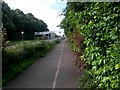 SZ0794 : Ensbury Park: bridleway N03 converges with Boundary Road by Chris Downer