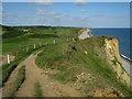 TG1443 : Norfolk coast path by Hugh Venables
