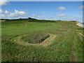 TG1443 : Sheringham Golf Course by Hugh Venables