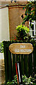 TM0179 : The Old Rectory sign by Adrian Cable