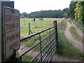 SZ0694 : Wallisdown: don't even think of parking here on footpath N10 by Chris Downer