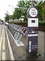 J3373 : Belfast Bikes by Chris Andrews