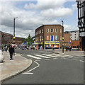 SP3379 : Trinity Street from Ironmonger Row, Coventry by Robin Stott