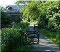 NT1870 : Towpath near the A71 Road Bridge by Mat Fascione