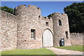 SJ5459 : Beeston Castle Lodge House by Jeff Buck