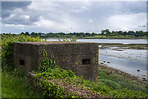 O1276 : Defending neutral Ireland in WWII: Boyne defences - Beaulieu pillbox (1) by Mike Searle