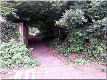 SZ0995 : Redhill: footpath O23 to Redhill Common by Chris Downer