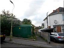 SZ0995 : Moordown: footpath M13 from Nursery Road by Chris Downer