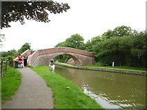 SP6989 : Rainbow Bridge, near Foxton Locks by Stephen Sweeney