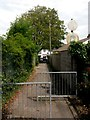 SZ0794 : Ensbury Park: Furze Bank Lane nears Columbia Road by Chris Downer