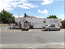 TL9979 : Hopton Post Office & Costcutters Store by Adrian Cable