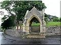 SE4253 : Stone  gateway  to  Hunsingore  Parish  Church by Martin Dawes