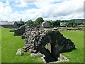 SD7746 : The reredorter at Sawley Abbey by Graham Hogg
