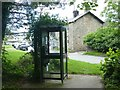 SD6650 : Telephone box at the centre of Great Britain by Graham Hogg