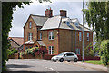 TF6741 : House on Lincoln Street, Hunstanton by J.Hannan-Briggs