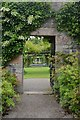 NJ1736 : Gateway to the Walled Garden at Ballindalloch Castle, Speyside by Andrew Tryon