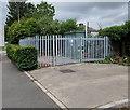 ST3186 : Valve chamber enclosure, Docks Way, Newport  by Jaggery