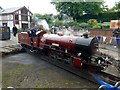 SD0896 : 'River Mite' on the turntable at Ravenglass Station by Graham Hogg