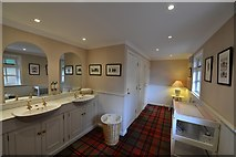 NJ1736 : Ballindalloch Castle and Gardens: The award winning ladies' lavatory by Michael Garlick