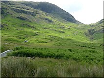 NY2101 : Approaching Hardknott Pass by Graham Hogg