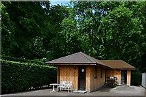 NJ1736 : Ballindalloch Castle and Gardens: The award winning  lavatories by Michael Garlick