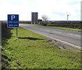SM9209 : Parking area 450 yards ahead, Upper Harmeston by Jaggery